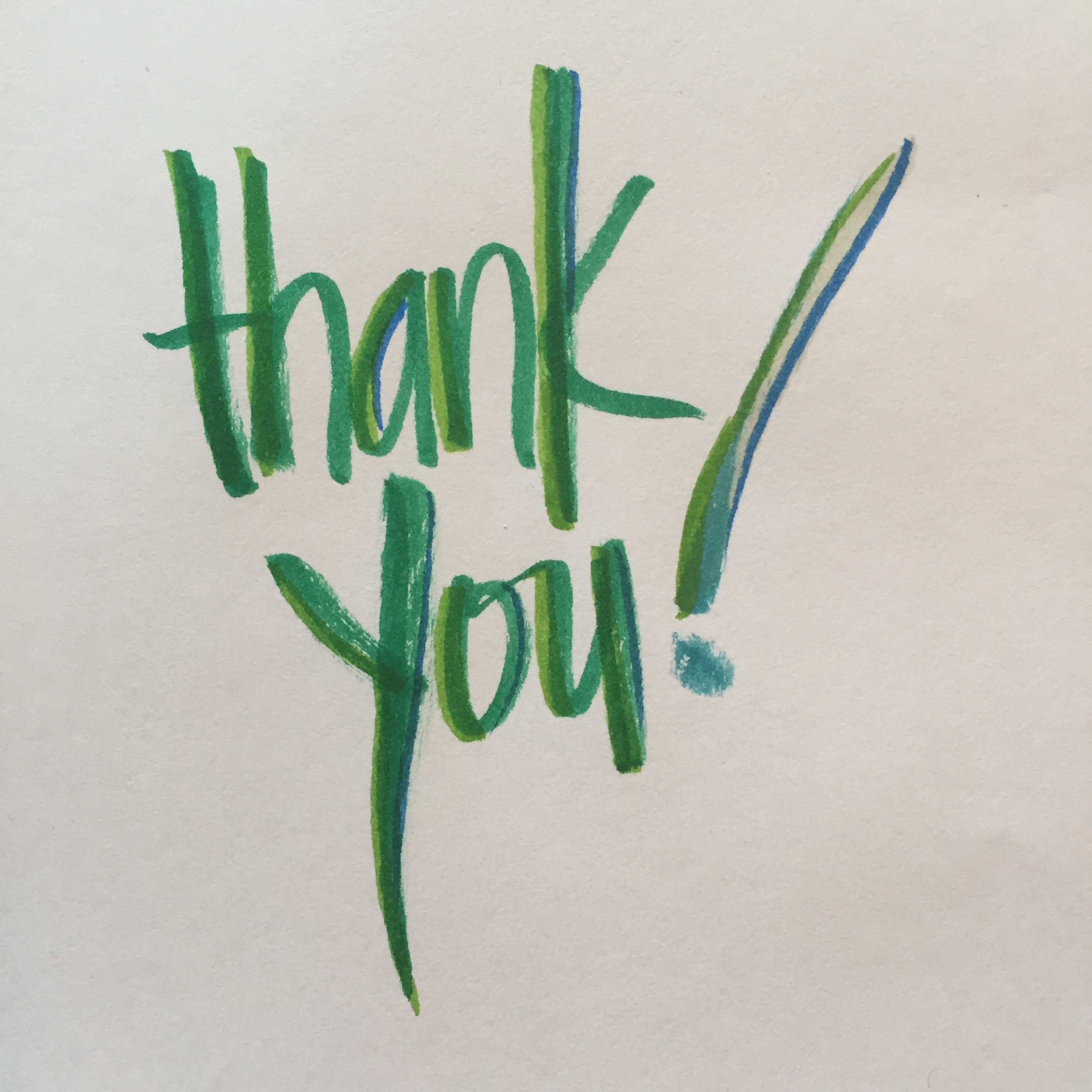 The Thank You Project – join in this Saturday at Pop-Up